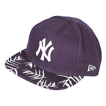 Neue Ära Sandwash Visier drucken 9Fifty Flatbill Cap ~ New York Yankees