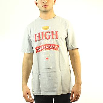 Lifted Research Group Herb High Since Breakfast 147% Pure Men's Grey T-shirt
