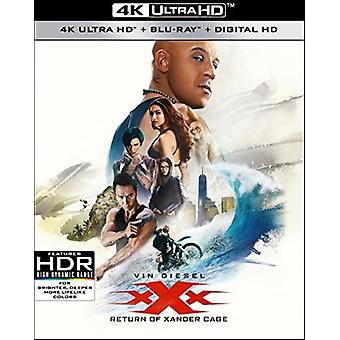 XXX: Return of Xander Cage [Blu-ray] USA import