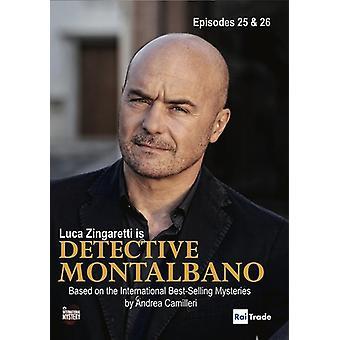 Detektiv Montalbano: Episoder 25 & 26 [DVD] USA importerer
