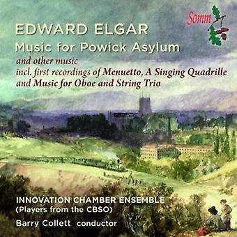Elgar / Innovation kammerensemble / Collett - musik til Powick asyl [CD] USA import