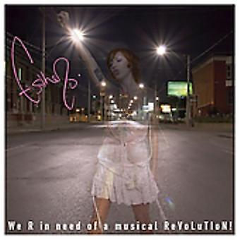 Esthero - We R in Need of a Musical Revolution [CD] USA import