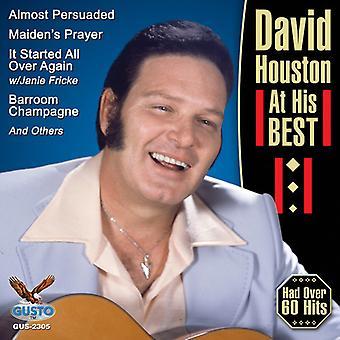 David Houston - importación de Estados Unidos en su mejor [CD]
