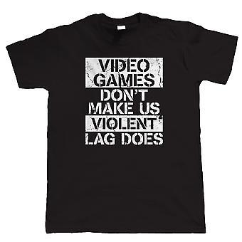 Videogames maken ons niet gewelddadige, Gamer T-Shirt