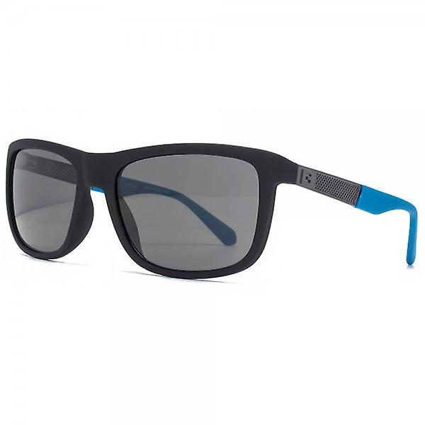Guess Soft Wrap Sunglasses In Matte Black Polarised