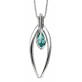 Collana di perle d'argento 925 durante
