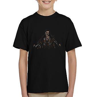 Sig goddag til min lille venner Machete børne T-Shirt