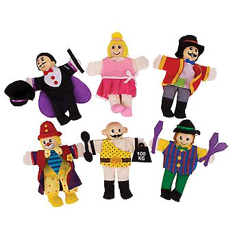 Bigjigs Toys Entertainer Finger Puppets