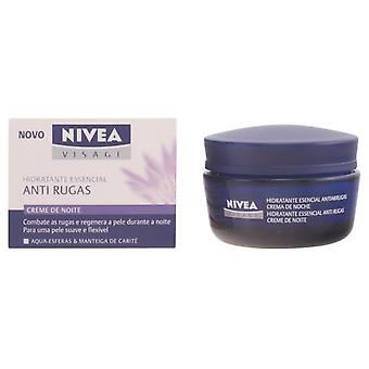 Nivea Essential Visage Anti-Wrinkle Night 50Ml