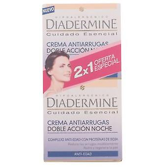Diadermine Essential Care Anti-Aging Night Lot 2 Pieces