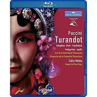 Puccini: Turandot [Blu-ray] USA import