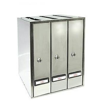 BTV Prisma All Stainless Steel Groups of 4 (DIY , Hardware , Home hardware , Mailboxes)