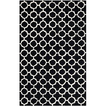 Bessa sort & elfenben marokkanske uld tæppe - Safavieh