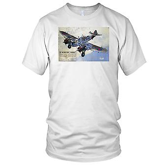 Bristol Beaufighter RAF Long Range Bomber Kids T Shirt