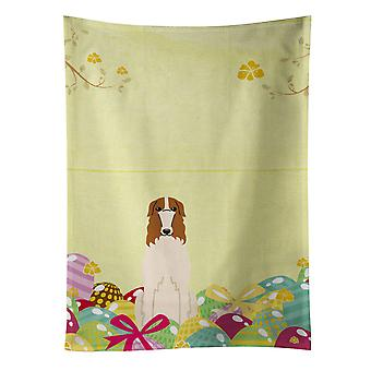 Carolines Treasures  BB6023KTWL Easter Eggs Borzoi Kitchen Towel