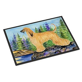 Carolines Treasures  SS8220MAT Afghan Hound Indoor Outdoor Mat 18x27 Doormat