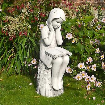 Solstice Sculptures Julie White Stone Effect Statue