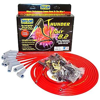 Taylor Cable 83253 Red Universal ThunderVolt 8.2 Ignition Wire Set