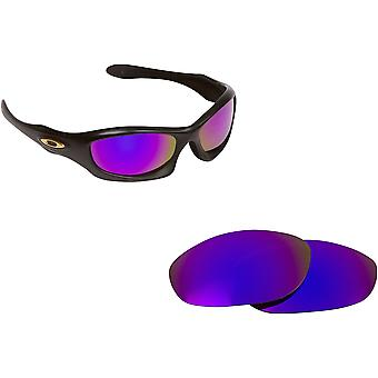 Best SEEK Replacement Lenses for Oakley Sunglasses MONSTER DOG Purple Mirror