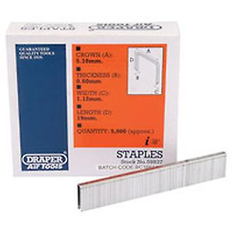 Draper 59837 19mm Staple (5000)
