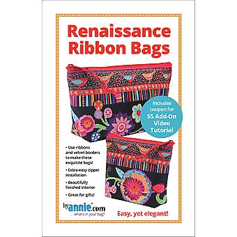 Patterns By Annie-Renaissance Ribbons Bags PBA-266