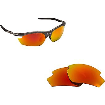 Best SEEK Polarized Replacement Lenses for Rudy Project RYDON Fire Red Mirror