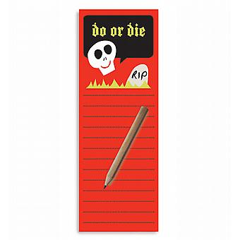 Do or Die Magnetic To-Do Lists Notepad