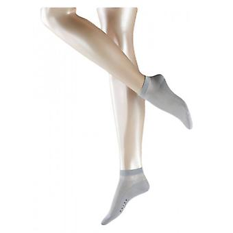 Falke Cotton Delight Short Socks - Silver