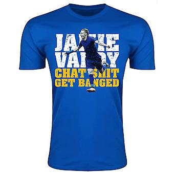 Jamie Vardy Leicester City Player T-Shirt (Royal) - Kids
