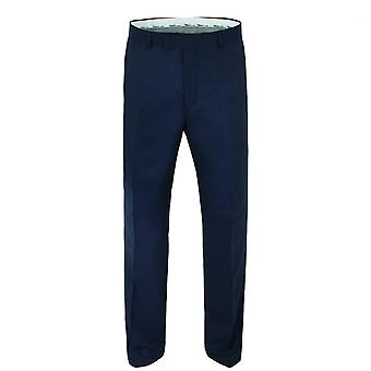 Gibson London Gibson London Navy Twill Slim Fit Suit Trousers