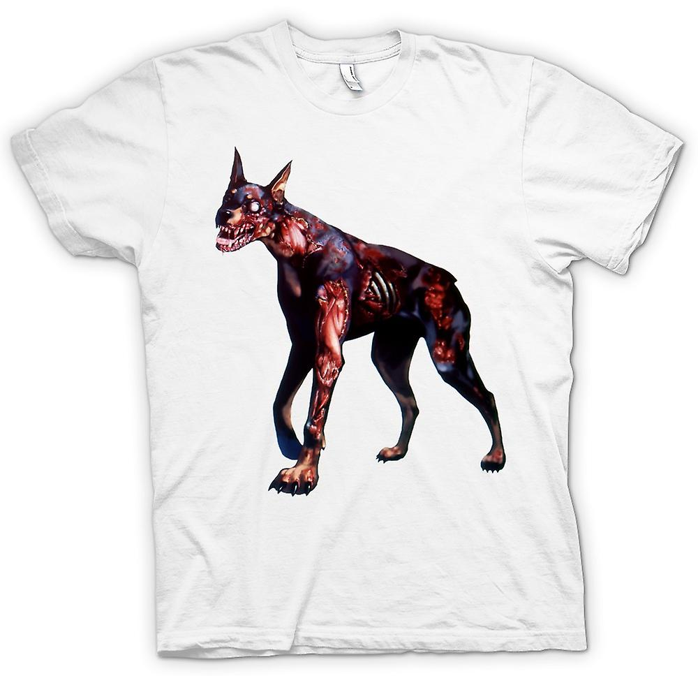 Womens T-shirt - I Love Zombie Dogs