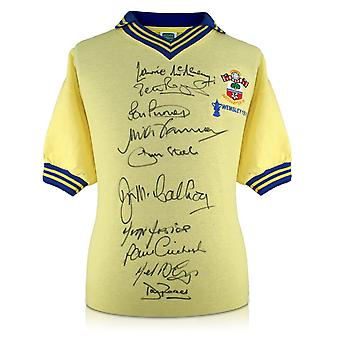 Southampton 1976 FA Cup Winners Signed Shirt
