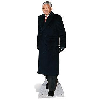 Nelson Mandela Life-sized papp åpning