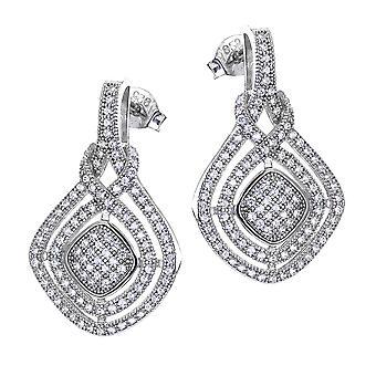 Orphelia Silver 925 Earring  Zirconium  ZO-7240