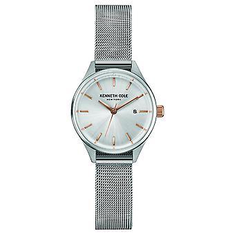 Kenneth Cole New York Damen Uhr Armbanduhr Edelstahl 10030840