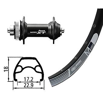 Bike parts 26″ wheel Rodi M 460 disc + Deore XT Centerlock (QR)