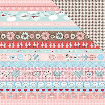 Scrapberry's You And Me Double-Sided Cardstock 12