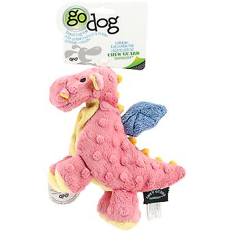 goDog Dragons with Chew Guard Small-Coral