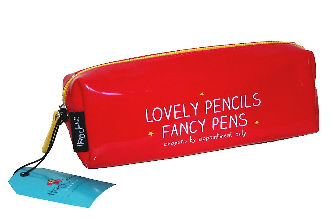 Lovely Pencils Fancy Pens Pencil Case, Happy Jackson Wild & Wolf