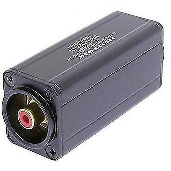 XLR adapter XLR plug - RCA socket (phono) Neutrik NA2M-D2B-TX 1 pc(s)