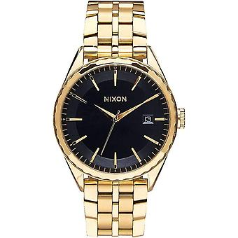 Nixon The Minx Watch - Gold/Black Sunray