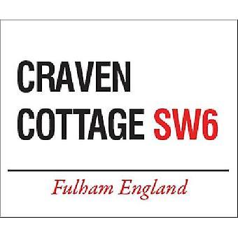 Craven Cottage Fulham Street Sign Fridge Magnet