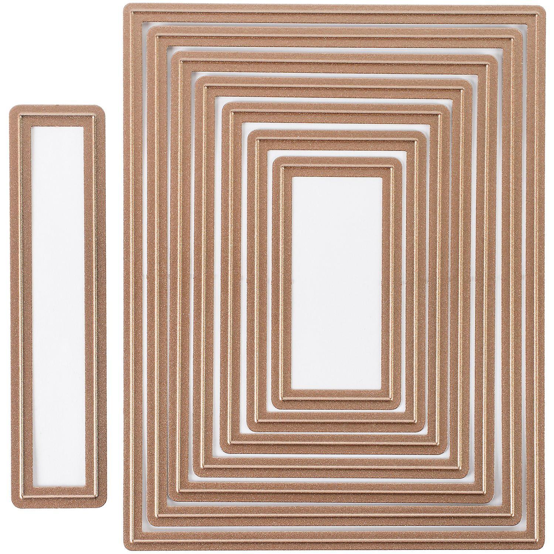 Spellbinders Nestabilicravates A2 voitured Creator Dies-tapis Basics A