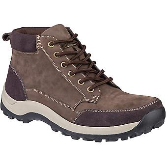 Cotswold Mens Slad Comfortable Casual Leather Lace Up Boots
