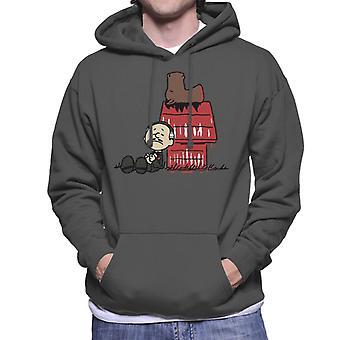 Vito Brown Godfather Peanuts Men's Hooded Sweatshirt