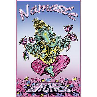 Affiche de chiennes de Namaste