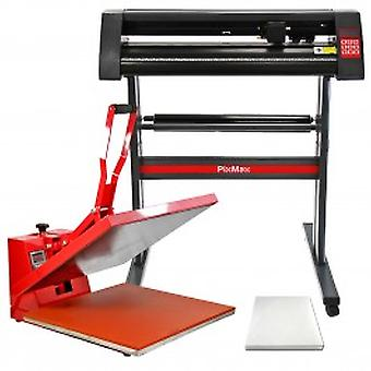 PixMax 50cm Clam Heat Press, Vinyl Cutter