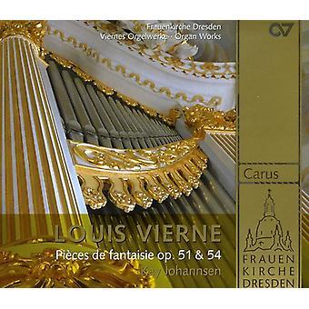 Louis Vierne - Louis Verne: Pi Ces De Fantasie, importación USA Op. 51 & 54 [SACD]