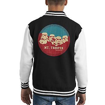 Opprinnelige Stormtrooper Mt Trooper Rushmore barneklubb Varsity jakke