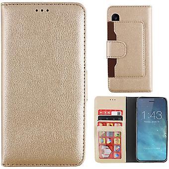 Colorfone Wallet Case iPhone X / Xs Geldbörse Beutel Gold